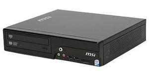 MSI WIND NETTOP BS120 s WIN XP HOME CZ (Atom230, 160GB HDD, 1GB DDR2, VGA, WiFi, DVD vypalovačka, 7.1, GLAN)
