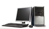 ACER Power M6/ A64-3800+/ 512MB/ SATA 160GB 7.2k/ DVD±RW +DL