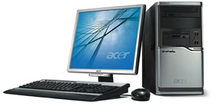 ACER Power M8/ Sempron3200+/ 512MB/ SATA II 80GB 7.2k/ DVD±RW +DL